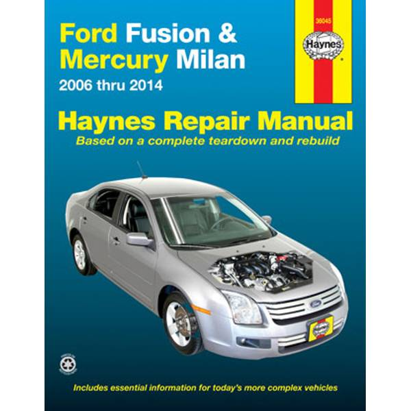 Ford Fusion (06-14) & Mercury Milan (06-11)