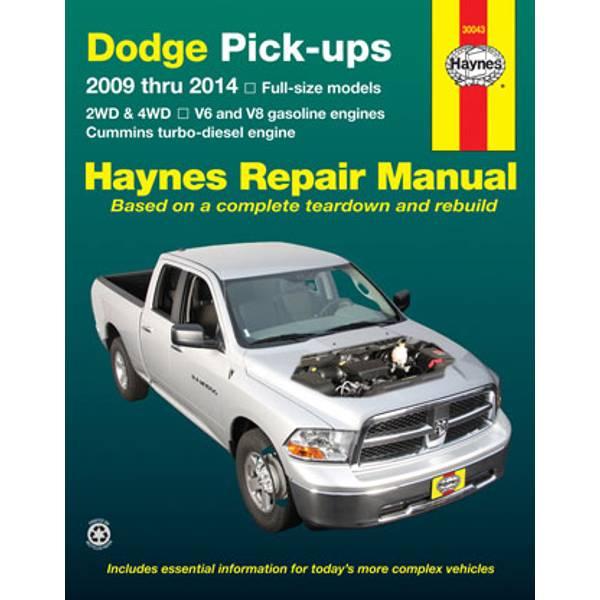 Dodge Full-Size Pick-Ups, '09-'14