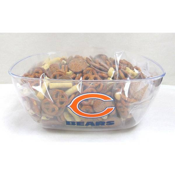 Chicago Bears Bowl with Legacy Snack Mix