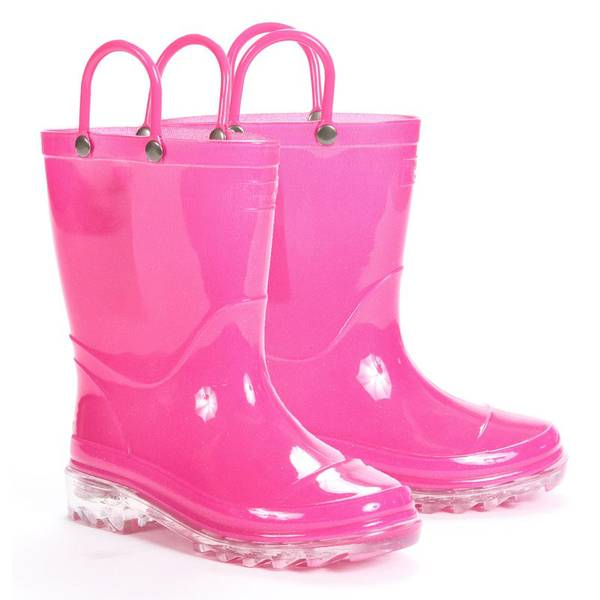 Girls'  Light Up Rain Boots