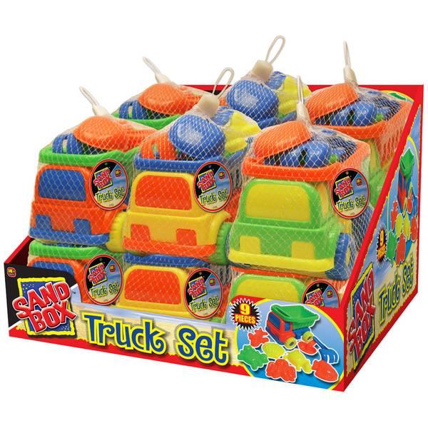 Sand Box Truck Set Assortment