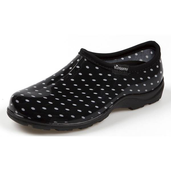 Sloggers Women's Polka Dot Garden Shoes
