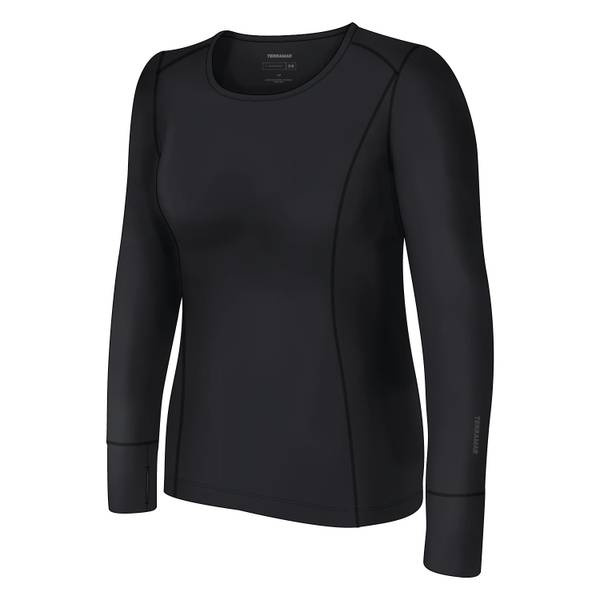 Terramar Women's Cloud Nine Scoop Neck Thermal Shirt