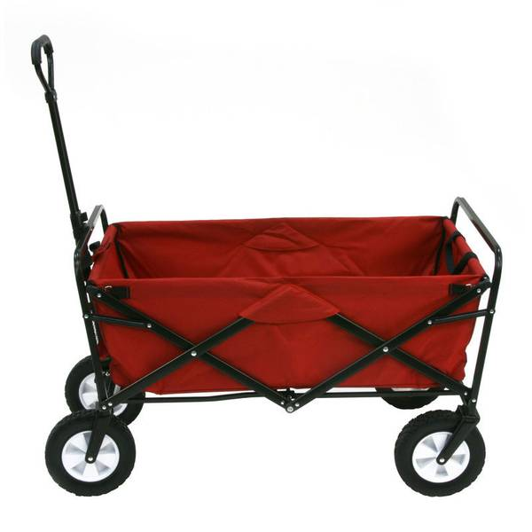 Mac Sports Red Folding Wagon Wtc 109