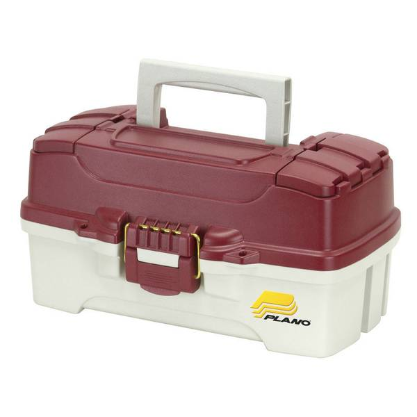 Plano One Tray Red Tackle Box