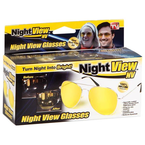 Night View Nv Glasses One Size Fits All As seen on TV! Turn Night into Bright