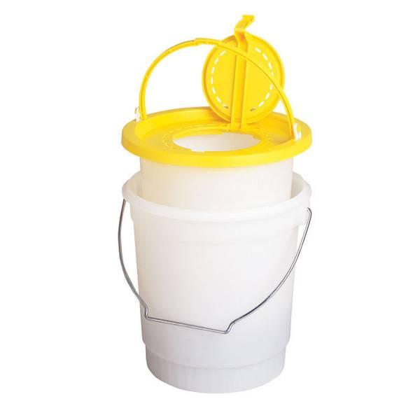 Frabill 2 piece minnow bucket at blain 39 s farm fleet for Fish basket walmart
