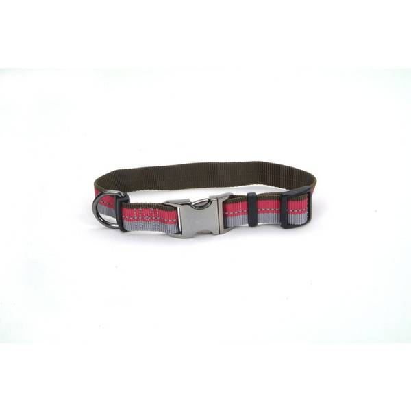 Pink Adjustable Outdoor Reflective Collar