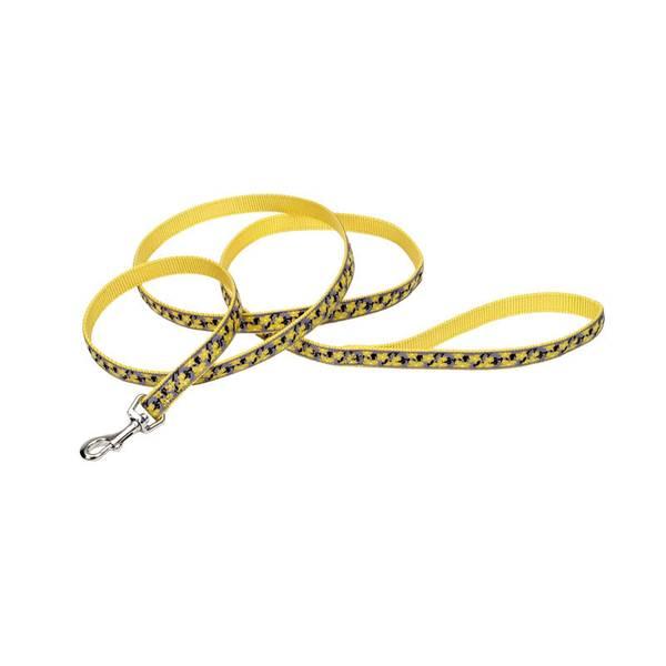 Yellow Buttercup Ribbon Nylon Lead