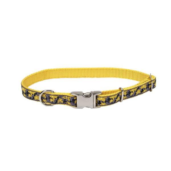 Yellow Buttercup Ribbon Adjustable Nylon Collar