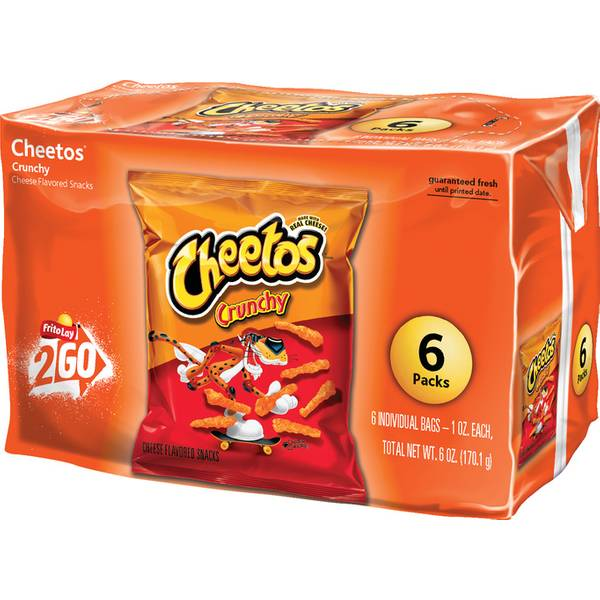 Crunchy Cheese Flavored Snacks