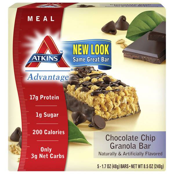 Advantage Chocolate Chip Granola Bars