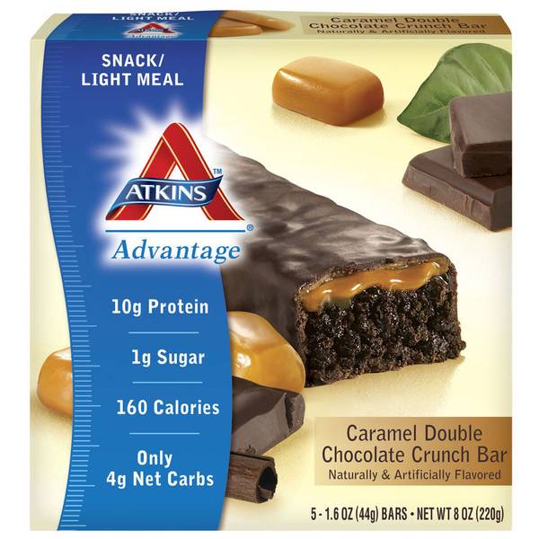 Advantage Caramel Double Chocolate Crunch Bars