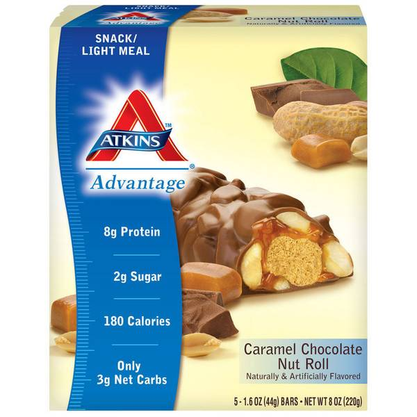 Advantage Caramel Chocolate Nut Roll Bars