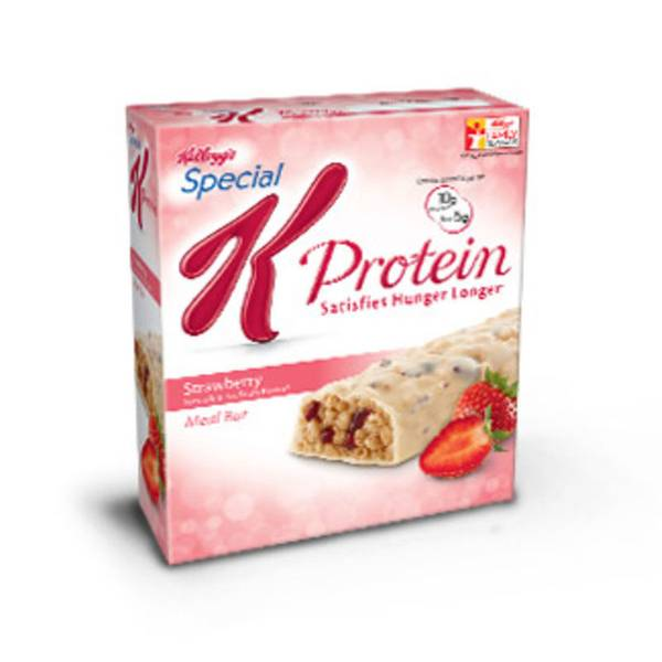 Special K Bars With Chocolate On Top