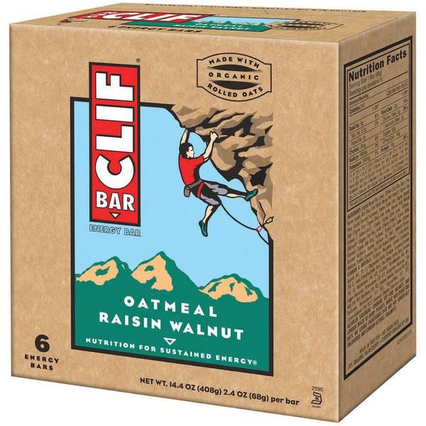 Oatmeal Raisin Walnut Energy Bars - 6 Count