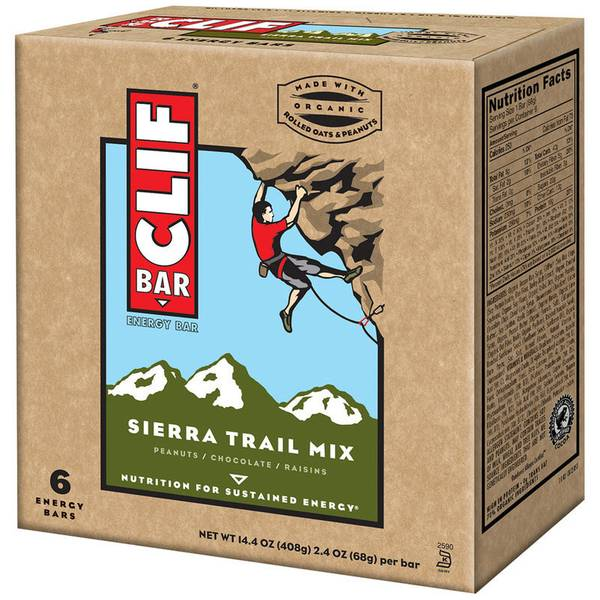 Sierra Trail Mix Energy Bars - 6 Count