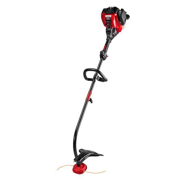 """TB525EC 29cc 4-cycle 17"""" Curved Shaft Attachment Capable Gas Trimmer"""