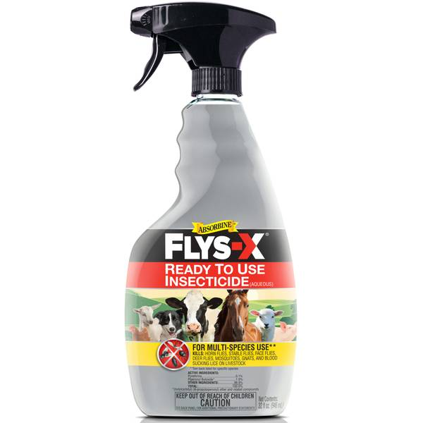 Flys-X Livestock Insecticide Spray