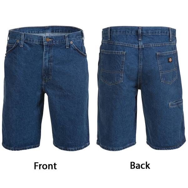 Men's Stonewash 6 Pocket Denim Shorts