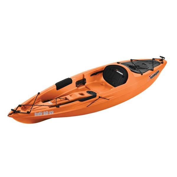 Sun dolphin bali 10 39 ss sit on kayak for Sun dolphin fishing kayak accessories