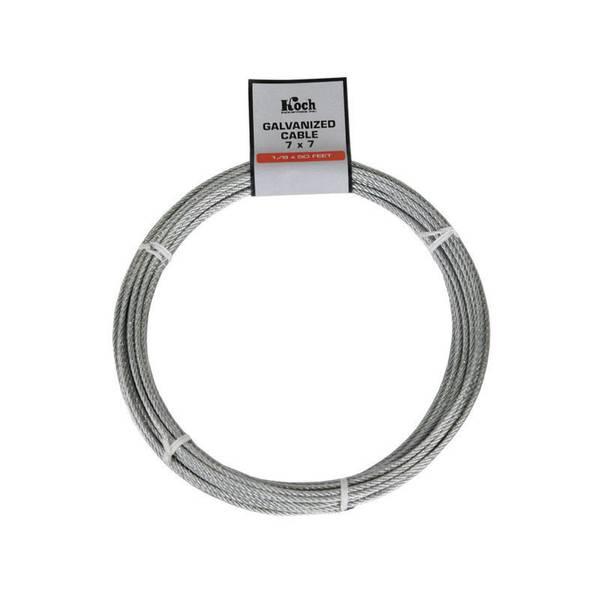 7 x 7 Galvanized Cable