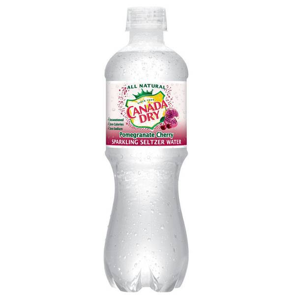 Pomegranate Cherry Sparkling Seltzer Water
