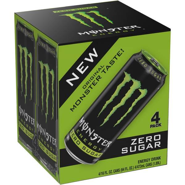 Energy Drink - 4 Pack