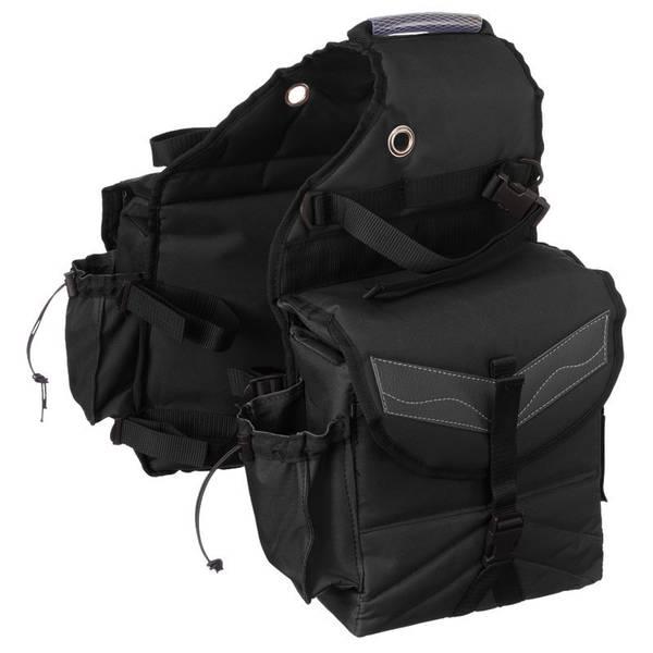 Multi - Pocket Saddle Bag