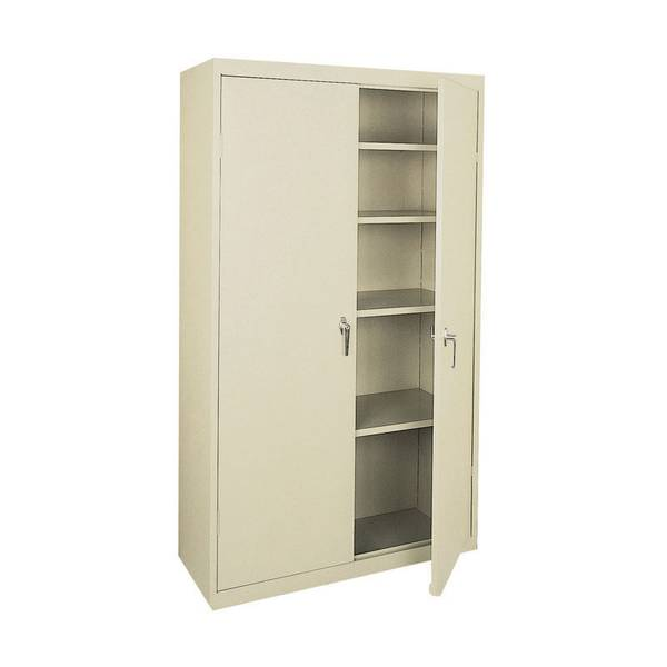 Marvelous Four Shelf Steel Storage Cabinet