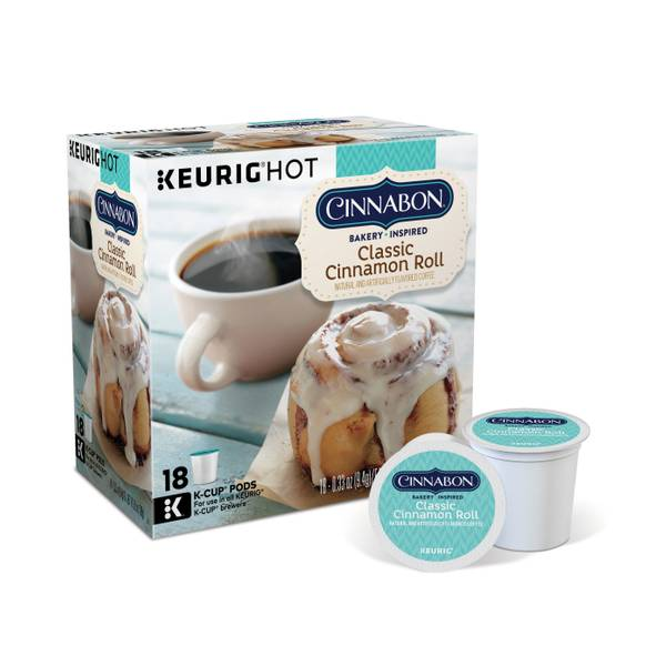 Classic Cinnamon Roll Coffee K - Cups