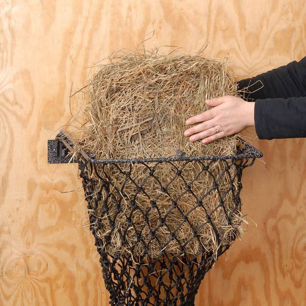 Easy Loading Hay Hoops