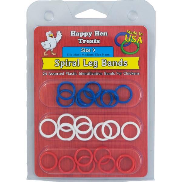 Spiral Leg Bands