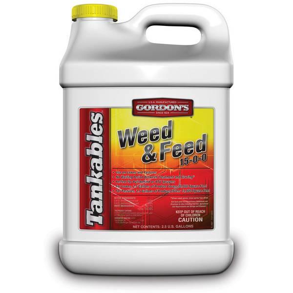 Tankables Weed & Feed 15-0-0