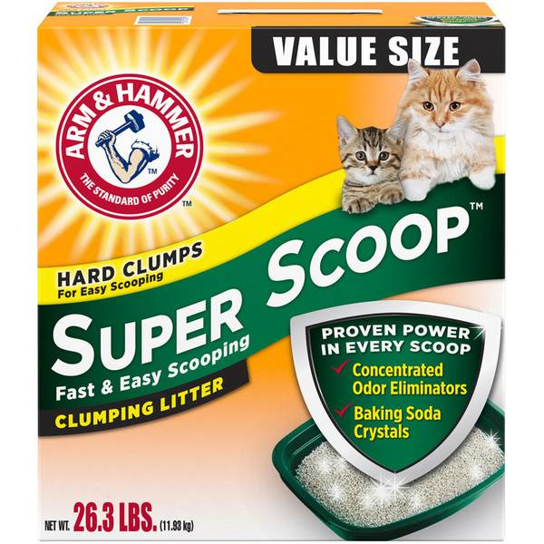 Super Scoop Fresh Scent Clumping Litter