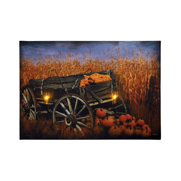 Harvest Wagon LED Canvas