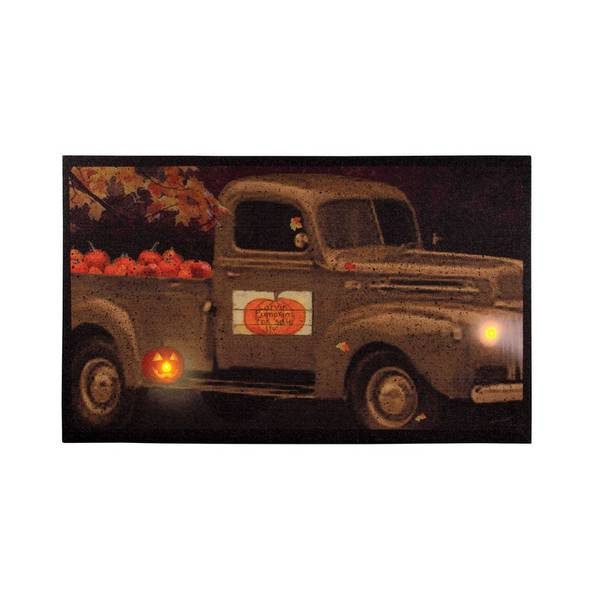 Pumpkins For Sale LED Canvas