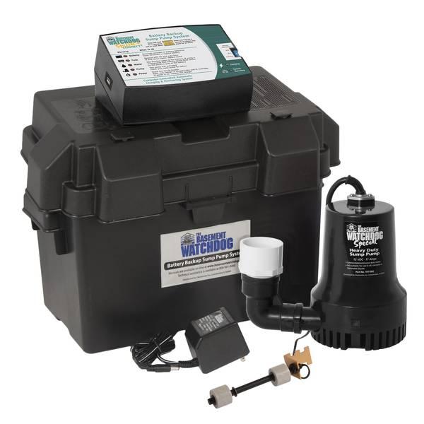 Basement Watchdog Special Battery Backup Sump Pump System
