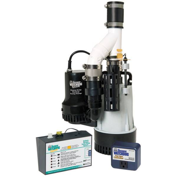 1/2 HP Big Combination Unit with Special + Backup Sump Pump System