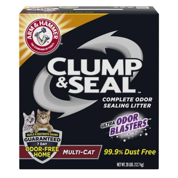 Clump & Seal Multi-Cat Litter