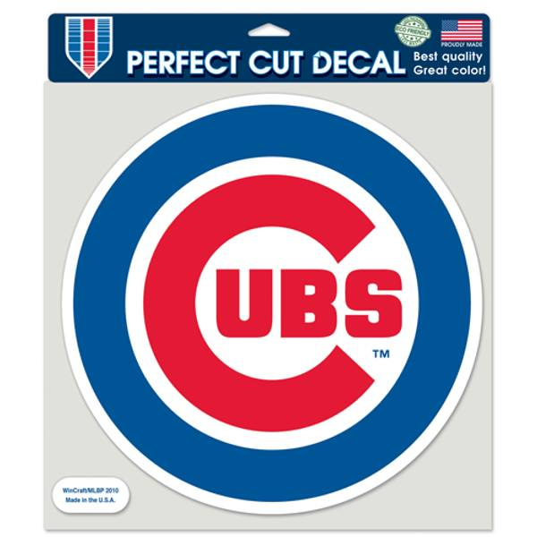 Chicago Cubs Perfect Cut Decal