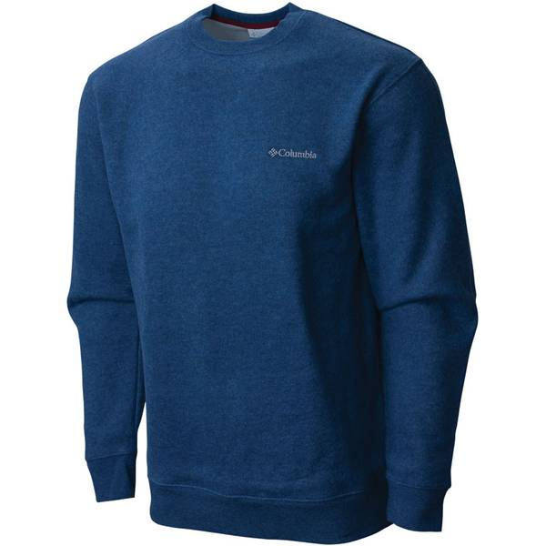 Men's Carbon Heather Hart Mountain II Crew New Sweatshirt