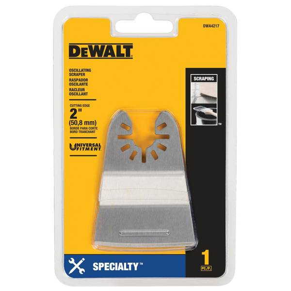 Rigid Oscilllating Scraper Blade
