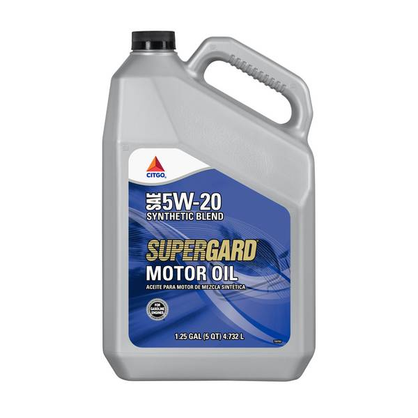 Supergard 5W20 Synthetic Blend Motor Oil