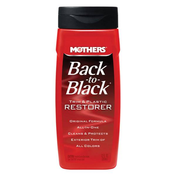 Back-to-Black Trim and Plastic Restorer