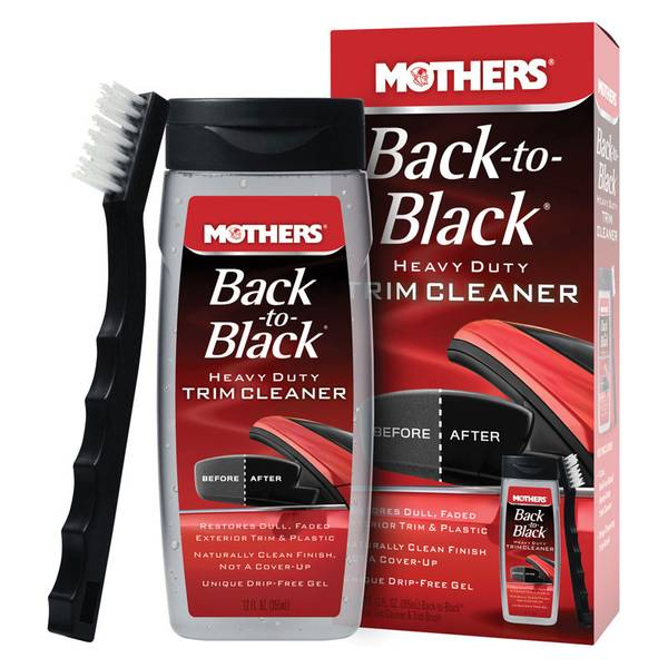 Back-to-Black Heavy Duty Trim Cleaning Kit