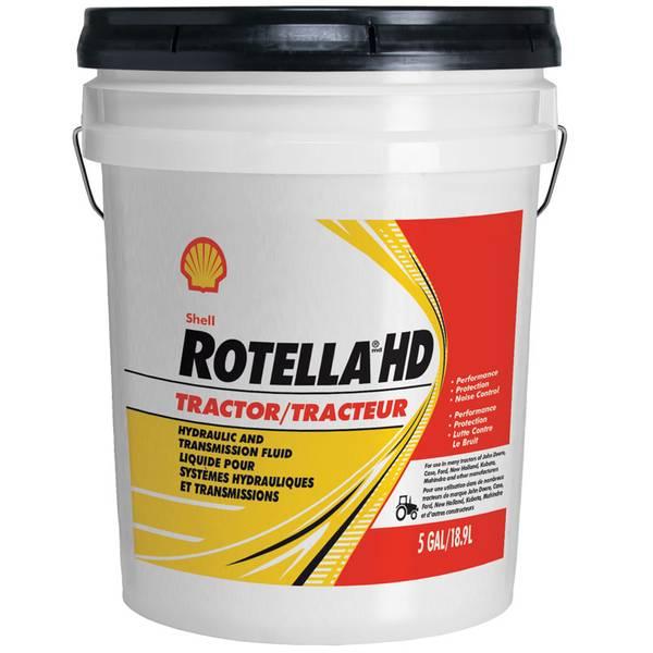 Rotella HD Tractor Transmission & Hydraulic Fluid