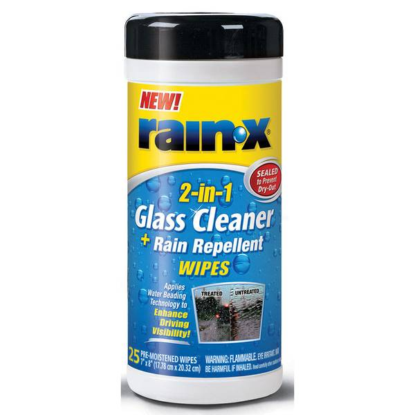 2 in 1 Glass Cleaner & Rain Repellent