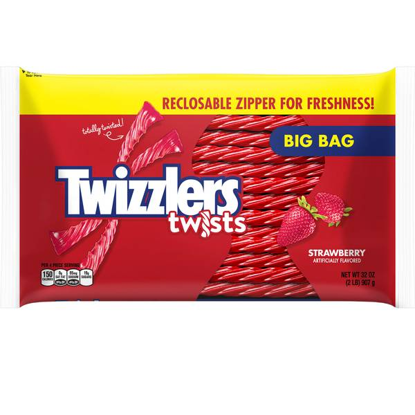 Strawberry Twists Big Bag
