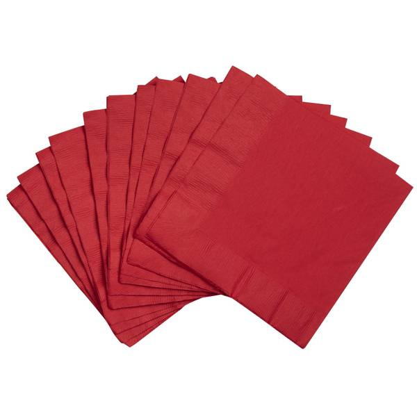 Creative Converting Classic Red Lunch Napkins
